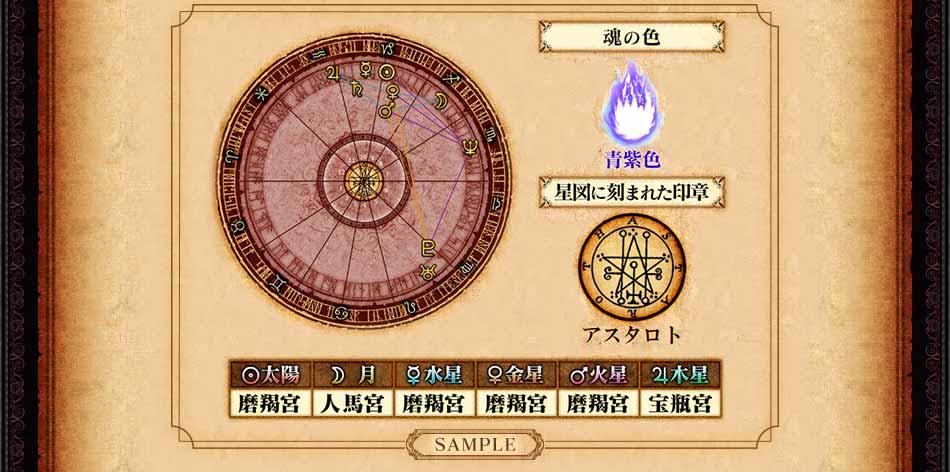 オリジン・チャート 〜Origin Chart〜 SAMPLE